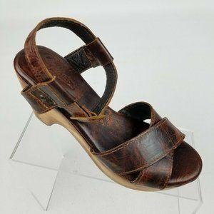 Freebird By Steven Cape Womens Wedge Sandals Sz 7